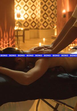 Bono individual de 4 sesiones Baño+Masaje 15´+Aromaterapia+Té